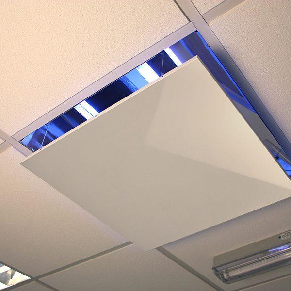 systeemplafond vliegenlamp Chameleon On-Top